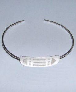 Bratara reglabila din argint cu simbolul Luxor/Atlantida