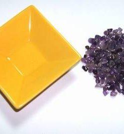Pliculet cu cristale de ametist