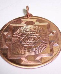 Amuleta Shri Yantra din cupru- model deosebit !