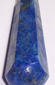 Bagheta din lapis lazuli cu 2 varfuri