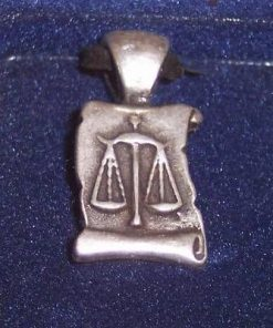 Amuleta cu zodia Balanta - model deosebit !