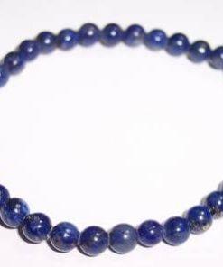 Bratara din lapis lazuli, pe elastic,
