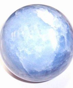 Sfera din calcedonie blue cristal natural