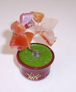 Copacel Feng Shui din cristale de agat