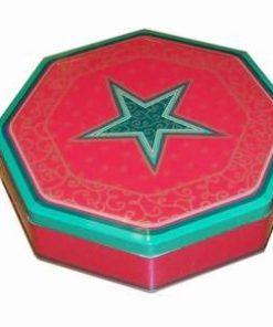 Cutie din metal - Spiritul Craciunului - octogonala