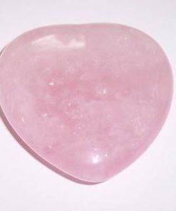 Inima din cuart roz