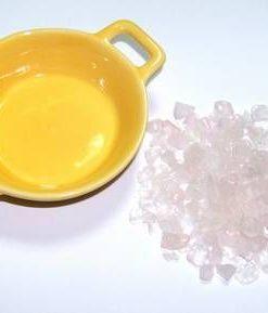 Pliculet cu cristale de cuart roz