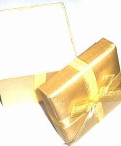 Cutiuta cadou de culoare galben - unicata!