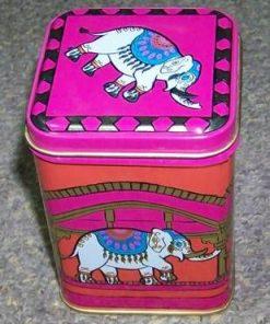 Cutie metalica cu Elefantul Norocos