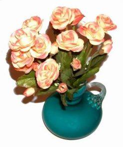 Vaza verde cu flori