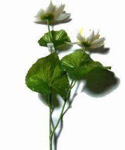 Floare de Lotus alba - 50 cm
