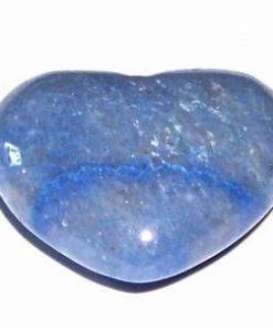 Inima din cuart albastru - model unicat!