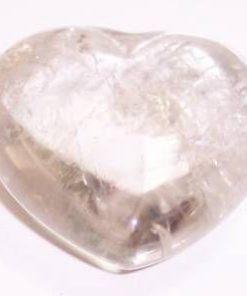 Inima din cristal de stanca - model deosebit si UNICAT!