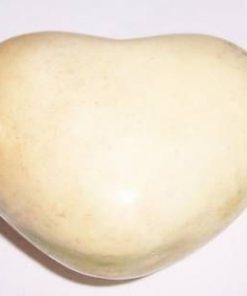 Inima din cristal de mookait - model unicat!