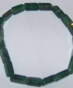 Bratara din jad verde pe elastic