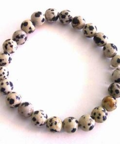 Bratara din jasp dalmatian