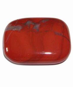 Cristal natural de jasp rosu