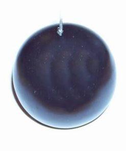 Lumanare neagra in forma de sfera
