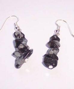 Cercei din obsidian