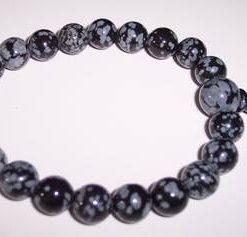 Bratara anului din obsidian, pe elastic
