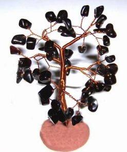 Copacel cu cristale de onix pe suport