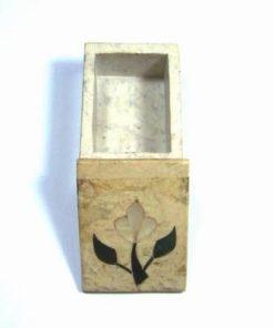 Casetuta din onix pentru pastrarea conurilor parfumate