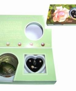 Set Feng Shui cu perla dorintei si perle sidef - verde