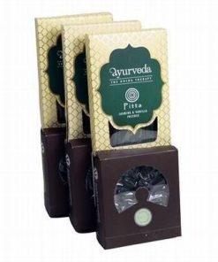 Set de betisoare si conuri parfumate Ayurveda - Pitta