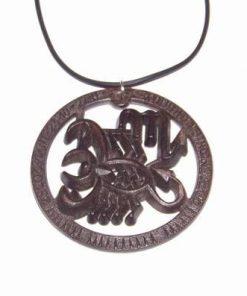 Pandantiv cu simbolul Scorpionului pe siret negru