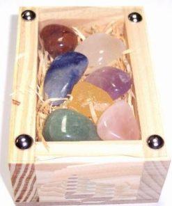 Set de cristale pentru cele 7 chakre - model deosebit !