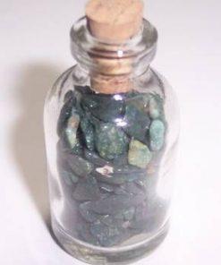 Sticluta fermecata cu cristale de piatra sangelui !