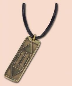 Pandantiv din alama cu simbolul Luxor / Atlantida