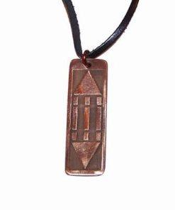 Pandantiv din cupru cu simbolul Luxor / Atlantida