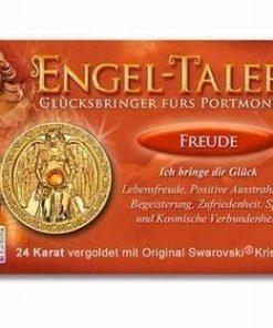Ingerul Fericirii - amuleta norocoasa placata cu aur de 24 K
