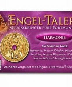 Ingerul Armoniei - amuleta norocoasa placata cu aur de 24 K