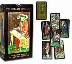 Visconti Tarot - 78 carti mic