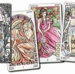 Tarot Art Nouveau LENORMAND - 36 carti - lb. romana